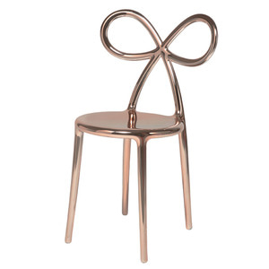 RIBBON CHAIR - PINK GOLD