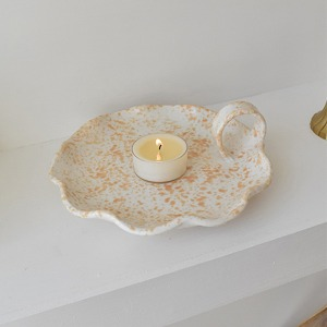 SPONGEWARE HANDLE PLATE - SANDY ORANGE